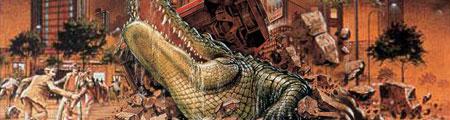 читать дальше Крокодилы против акул