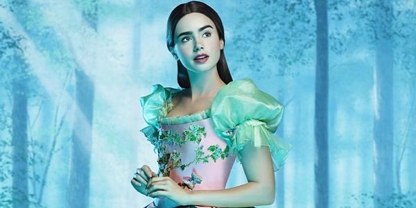 читать дальше Лили Коллинз спасла прекрасного Принца от злой королевы
