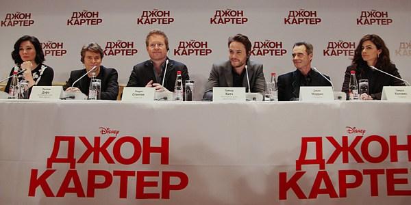 читать дальше Команда «Джона Картера» побывала в Москве
