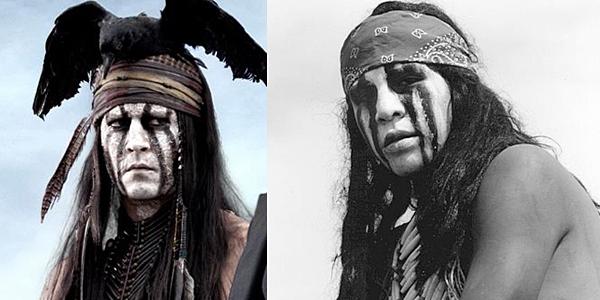 Как Джонни Депп делал индейца Тонто