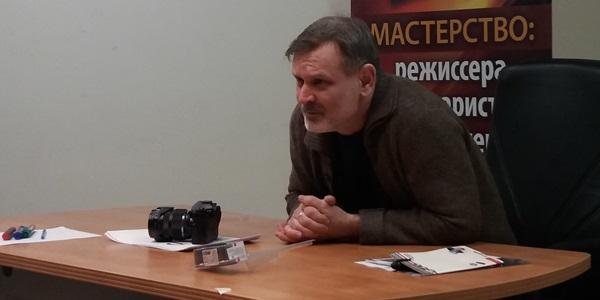 Взгляд снайпера в «Битве за Севастополь»: мастер-класс режиссёра Сергея Мокрицкого