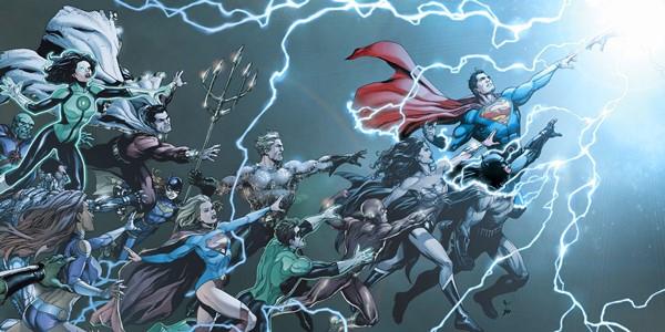 читать дальше Бумажные комиксы. «Вселенная DC. Rebirth» Джеффа Джонса
