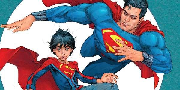 читать дальше Бумажные комиксы. «Супермен» Питера Дж. Томаси и Патрика Глисона: «Сын Супермена»