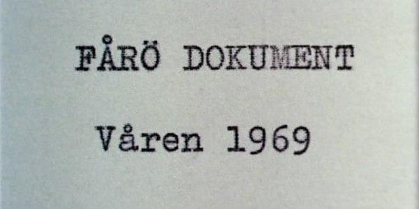 читать дальше Ни дня без Бергмана: «Форё - документ 1969» (1969)