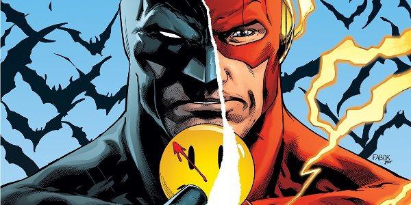читать дальше Бумажные комиксы. «Бэтмен / Флэш» Тома Кинга и Джошуа Уильямсона: «Значок»