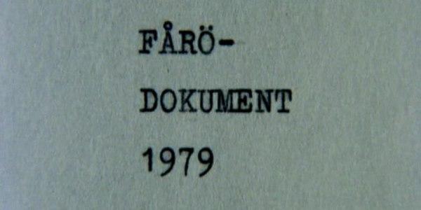 читать дальше Ни дня без Бергмана: «Форё - документ 1979» (1979)
