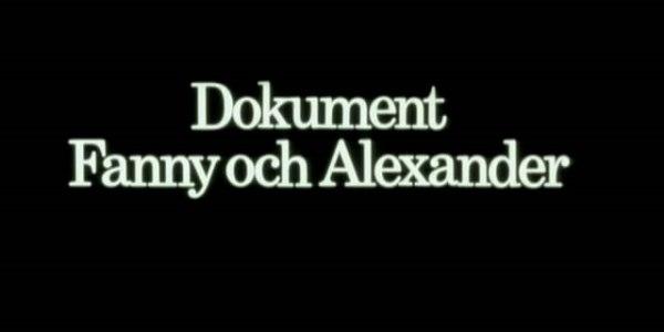 Ни дня без Бергмана: «Фанни и Александр. Хроника создания фильма» (1984)