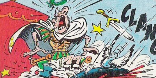 читать дальше Бумажные комиксы. «Астерикс» Рене Госинни и Альбера Удерзо: «Щит арверна»