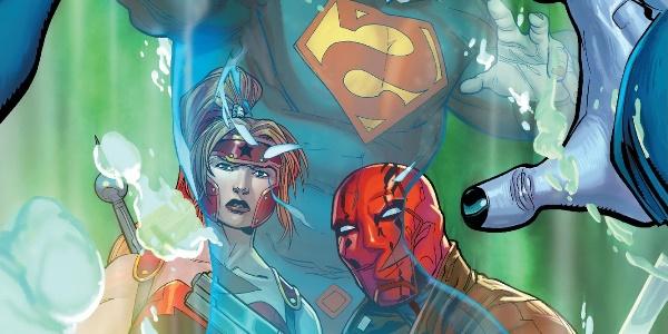 читать дальше Бумажные комиксы. «Красный Колпак и Изгои» Скотта Лобделла: ##3-4