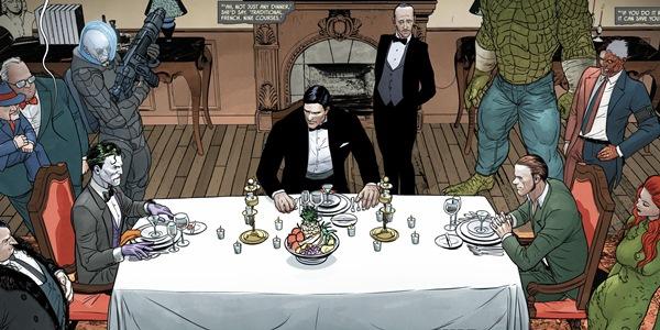 читать дальше Бумажные комиксы. «Бэтмен» Тома Кинга: «Война Шуток и Загадок»
