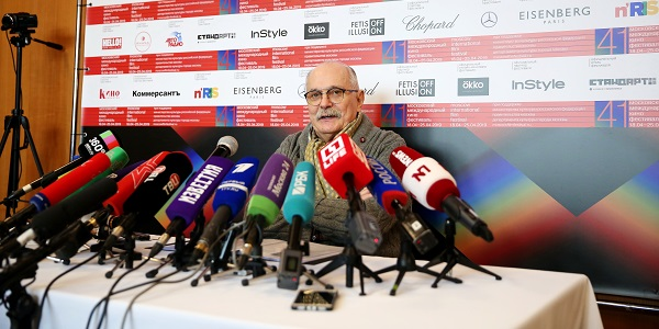 41-й ММКФ: брифинг с Никитой Михалковым и пресс-конференция с Ким Ки-Дуком