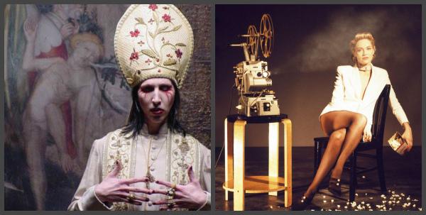 Мэрилин Мэнсон и Шэрон Стоун встретятся с «новым Папой»