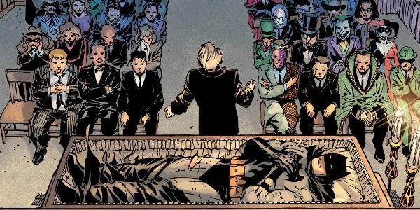 читать дальше Бумажные комиксы. «Бэтмен» Нила Геймана: «Что случилось с Крестоносцем в Маске?»