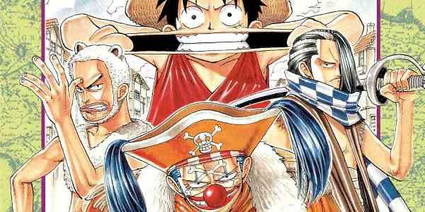 читать дальше Бумажные комиксы. «One Piece. Большой куш» Эйитиро Оды: 1