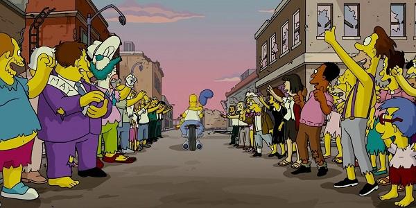 Симпсоны отправляются в кино... снова!