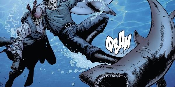 читать дальше Бумажные комиксы. «Бэтмен» Пола Дини: «Укус акулы»