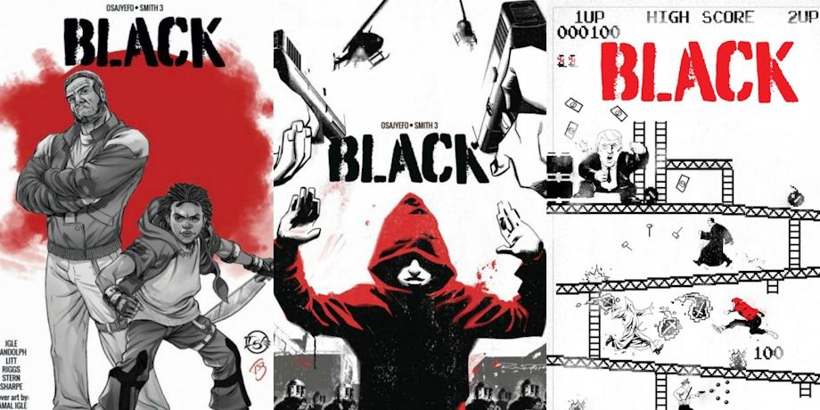 Комикс о чернокожих супергероях и белых злодеях станет фильмом