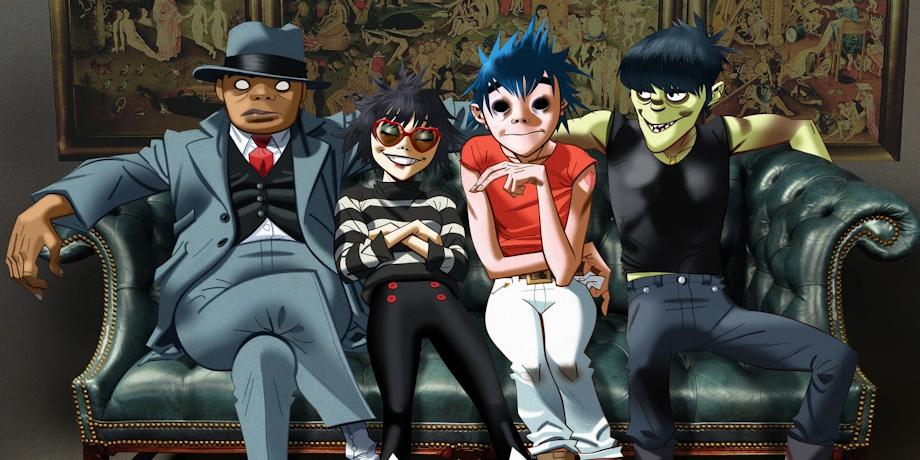 На Netflix появится мультфильм о группе Gorillaz