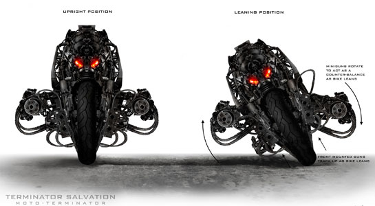 Концепт-арты «Терминатора 4»