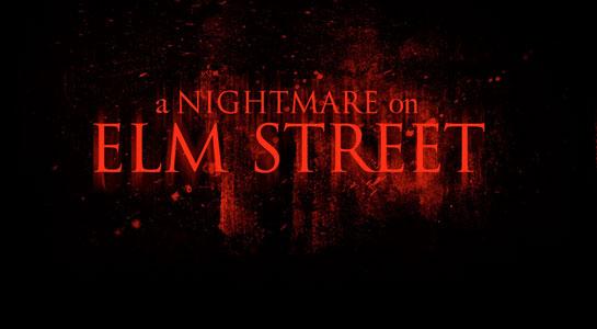 Первый кадр «Кошмара на улице Вязов»