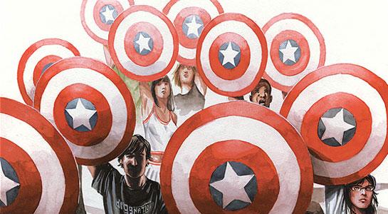 Концепт-арты Капитана Америка