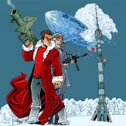 Комикс Эльдара Салаватова «Дед Мороз. Ледяное сердце»