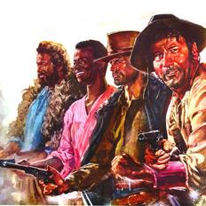 Афроитальянец на Диком Юге