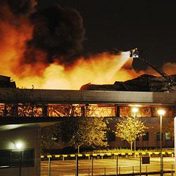 Лондонские беспорядки ударили по Sony