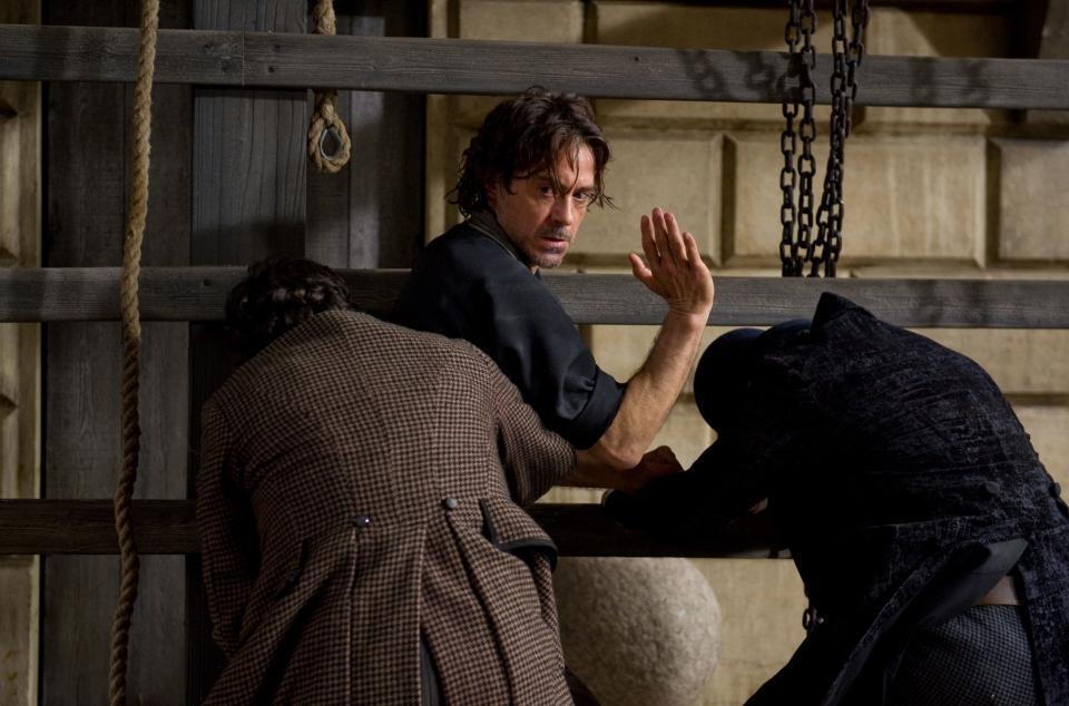 кадры из фильма Шерлок Холмс: Игра теней Роберт Дауни-мл.,