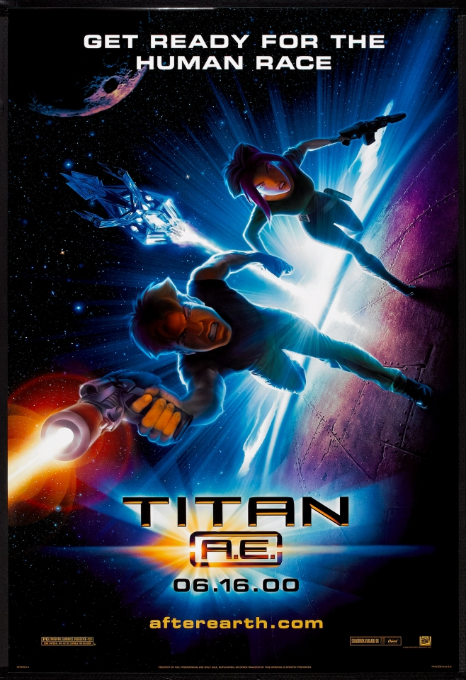 плакат фильма Титан: После гибели Земли