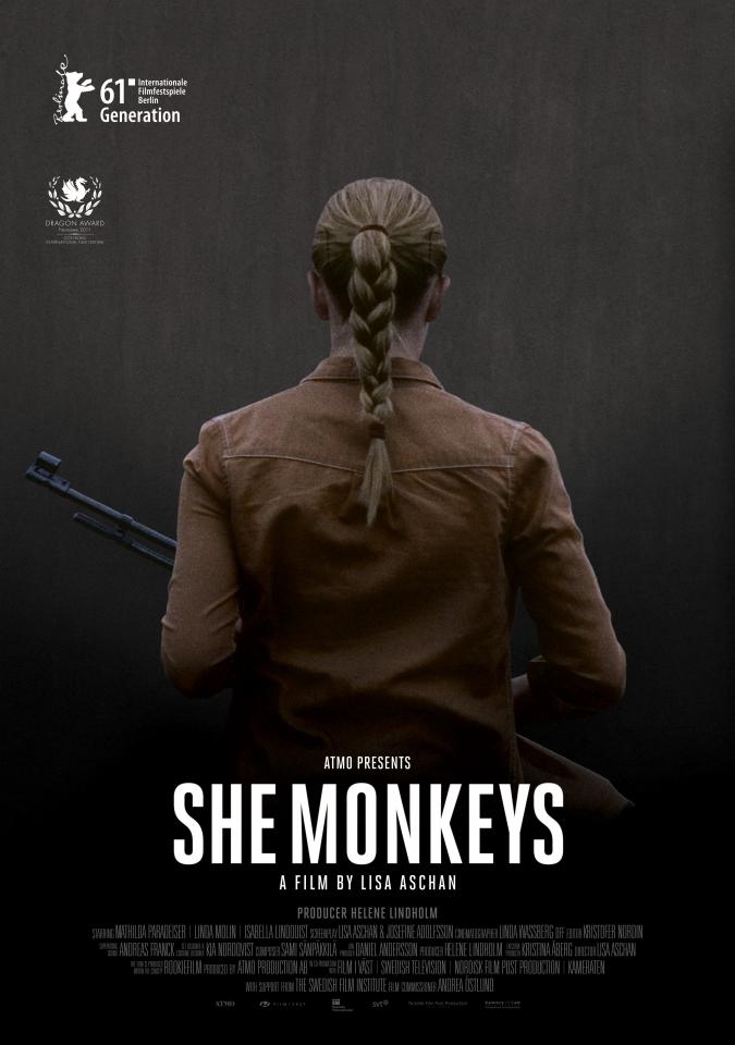 плакат фильма постер Обезьянки