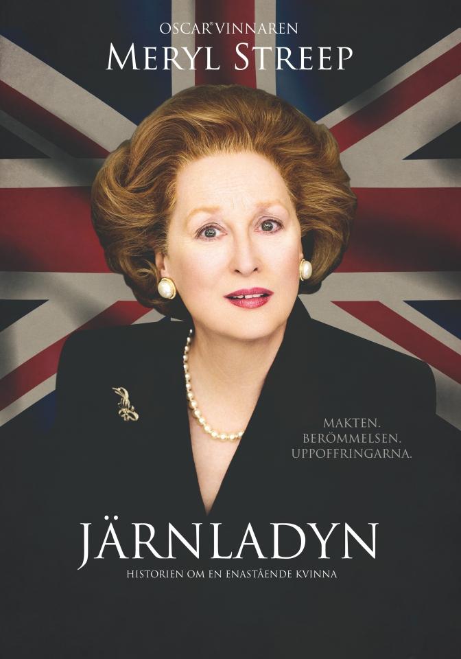 плакат фильма постер Железная леди