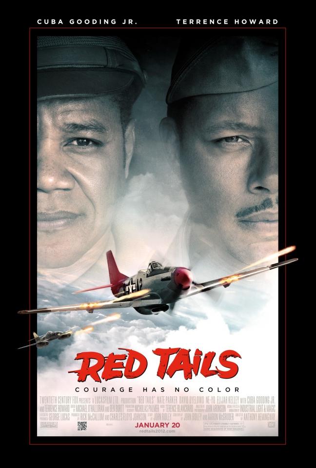 плакат фильма постер Красные хвосты*
