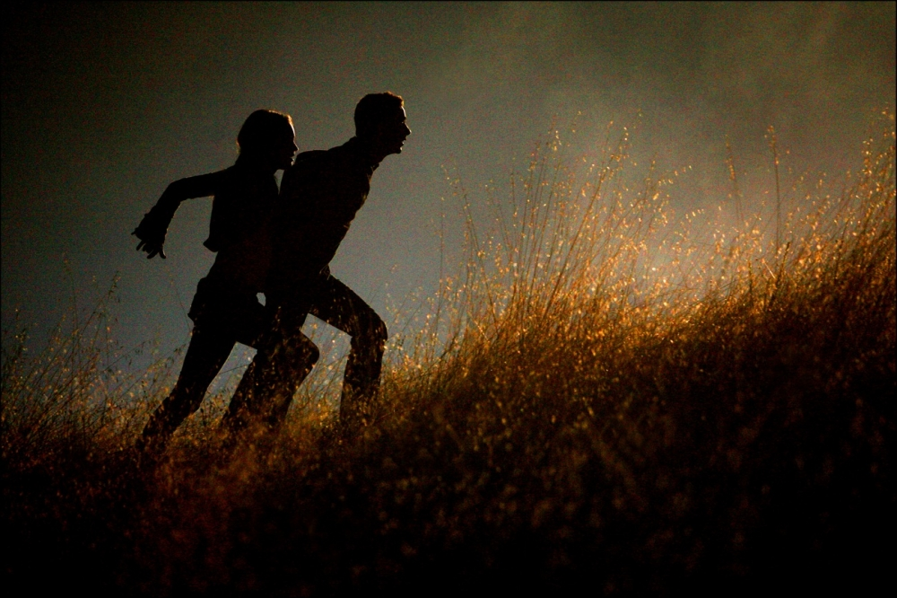 кадры из фильма Трансформеры Меган Фокс, Шайа ЛаБаф,