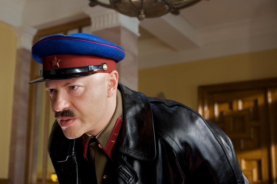 кадры из фильма Шпион Федор Бондарчук,