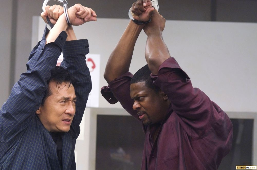 кадры из фильма Час пик 3 Джеки Чан, Крис Такер,