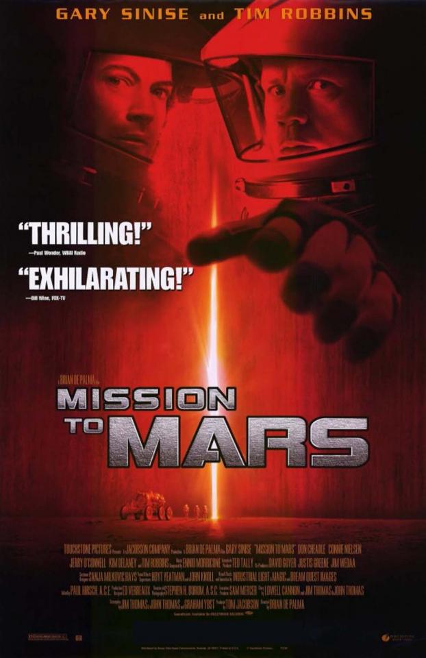 плакат фильма Миссия на Марс