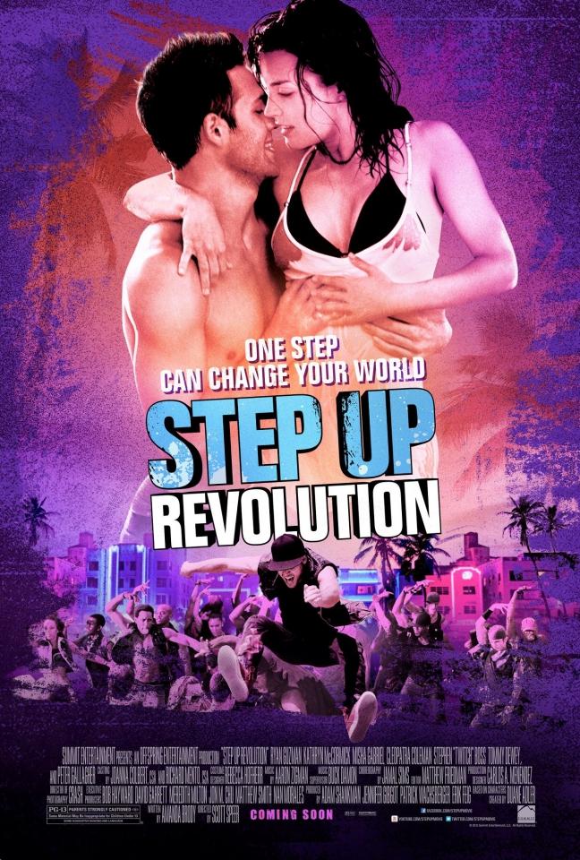 плакат фильма постер Шаг вперед 4 3D