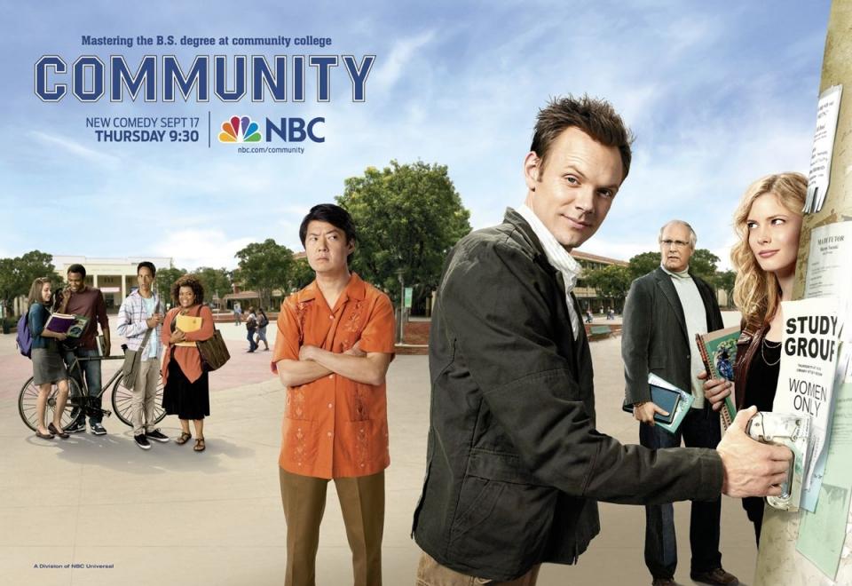 плакат фильма биллборды Сообщество
