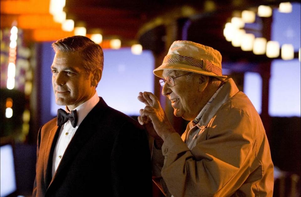 кадры из фильма Тринадцать друзей Оушена Джордж Клуни, Карл Рейнер,