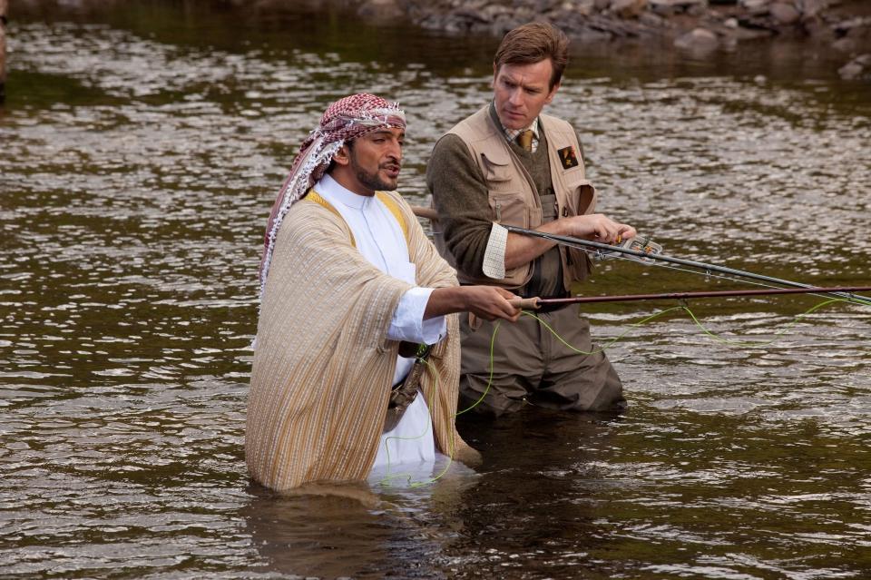 кадры из фильма Рыба моей мечты Амр Вакид, Юэн МакГрегор,