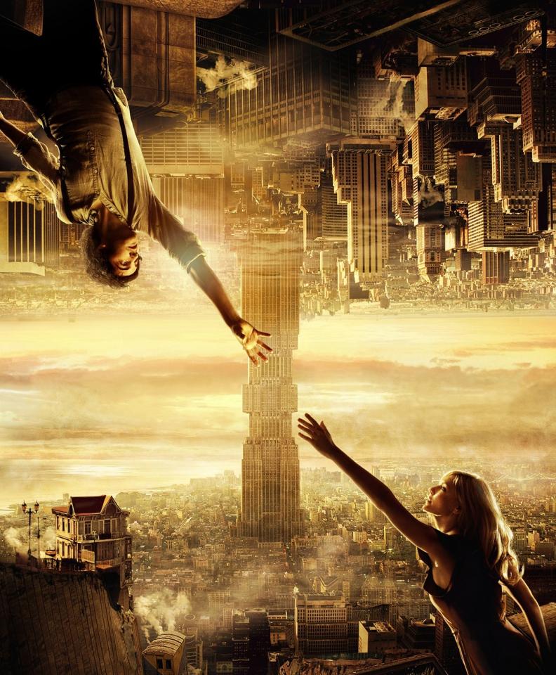 плакат фильма постер textless Параллельные миры 3D