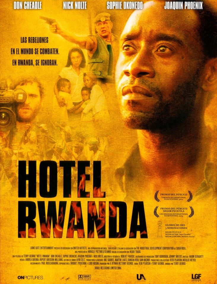 плакат фильма Отель «Руанда»