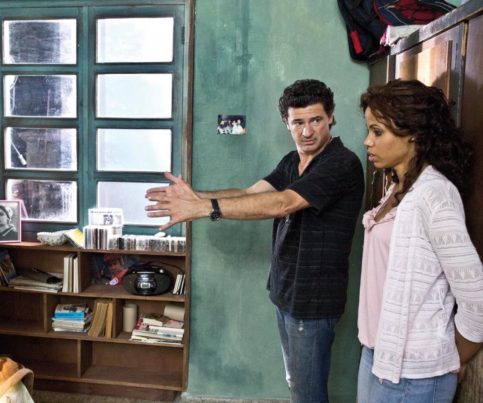 со съемок Гавана, я люблю тебя