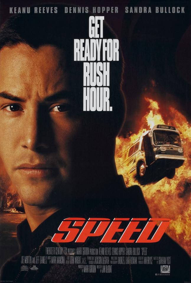 плакат фильма Скорость