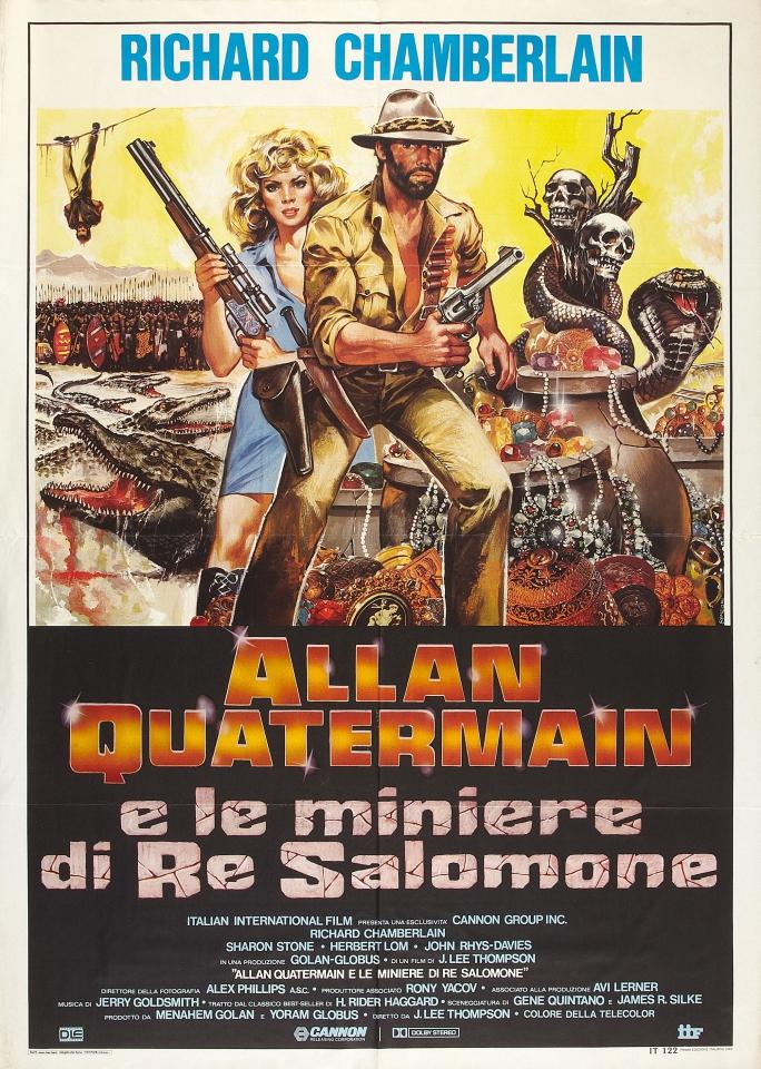 плакат фильма Копи царя Соломона