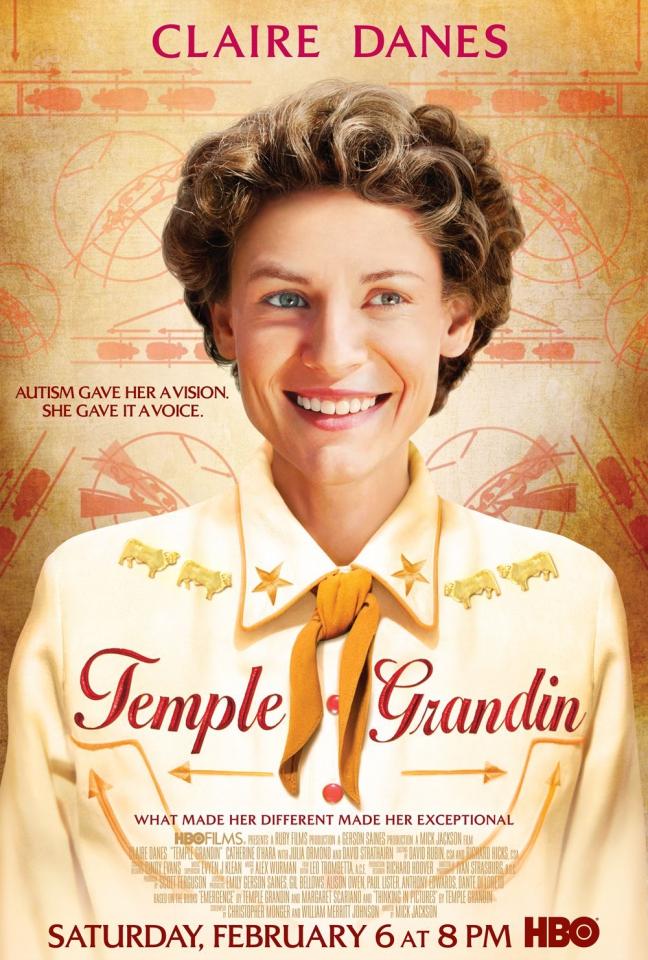 плакат фильма постер Тэмпл Грандин