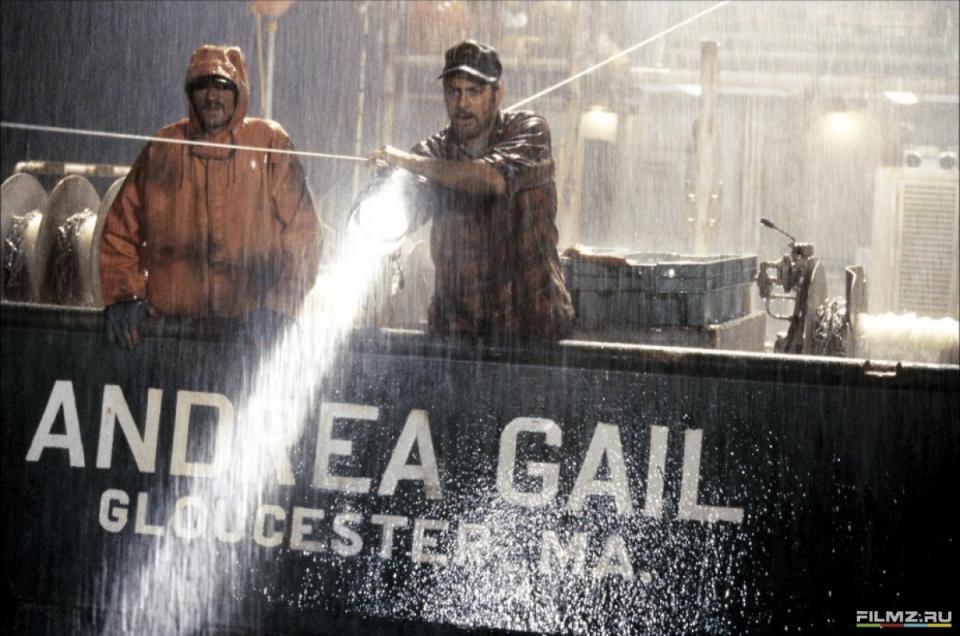 кадры из фильма Идеальный шторм Джордж Клуни,