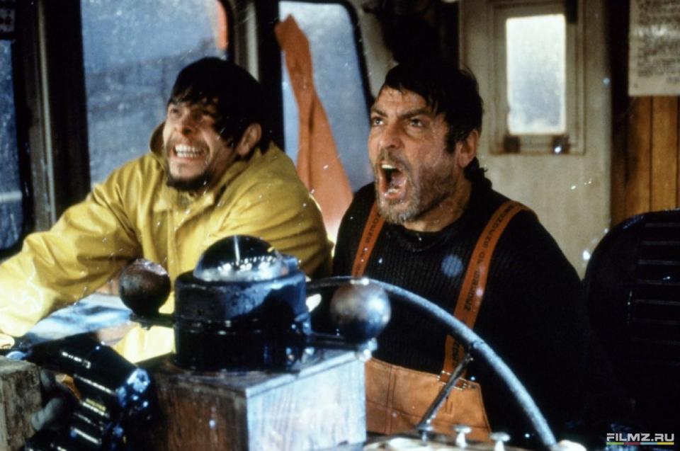 кадры из фильма Идеальный шторм Марк Уолберг, Джордж Клуни,
