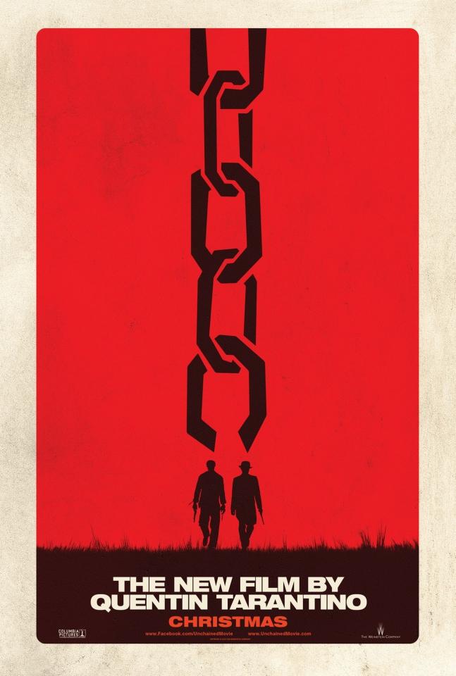 плакат фильма тизер Джанго освобожденный
